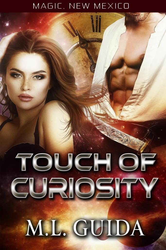 Touch of Curiosity by ML Guida book cover